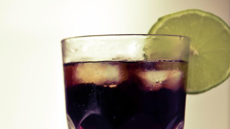 Drink mit Limette