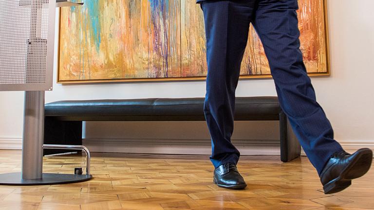 Mecklenburg-Vorpommerns Ministerpräsident Erwin Sellering geht