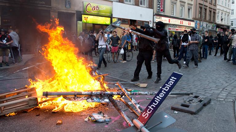 G20, Schanzenviertel,