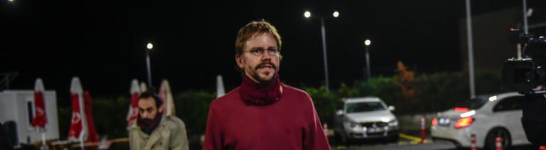 Der deutsche Menschenrechtler Peter Steudtner in Freiheit