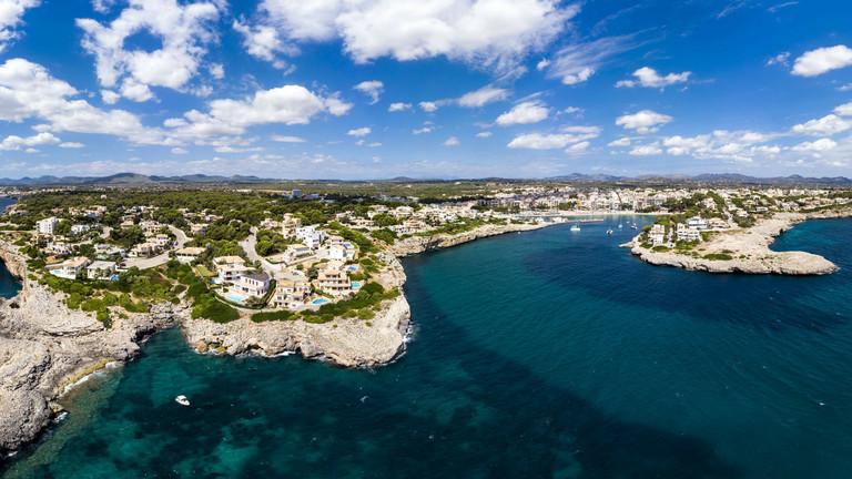 Spain, Baleares, Mallorca, Porto Cristo, Cala Manacor.