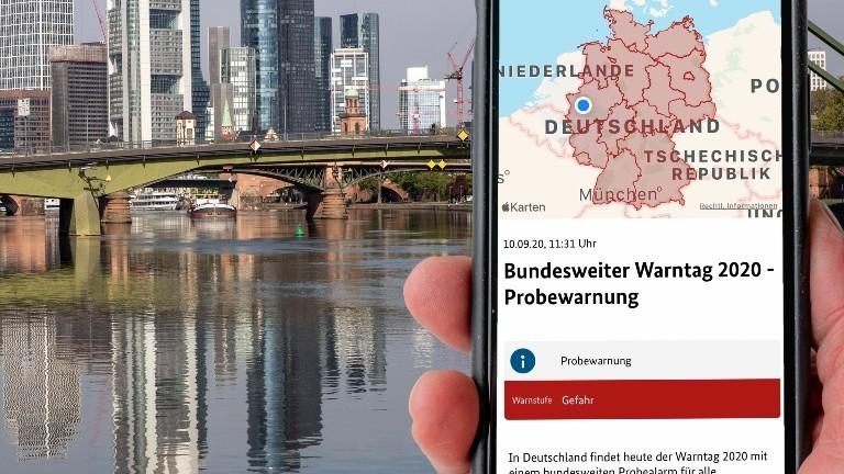 Eine App soll Bürgerinnen und Bürger in Extremsituationen warnen
