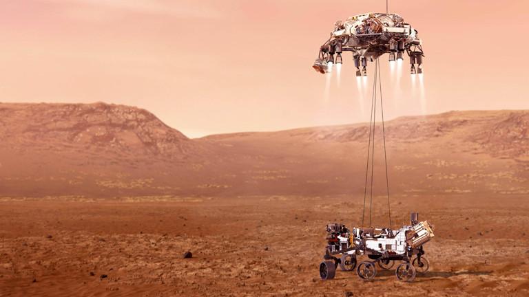 Mars Sichtbar 2021