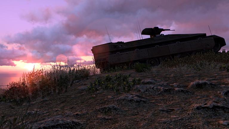"""Eine Szene aus dem Computerspiel """"Arma 3""""."""