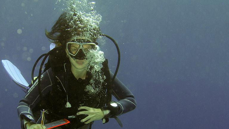 Meeresbiologin Julia Schnetzer