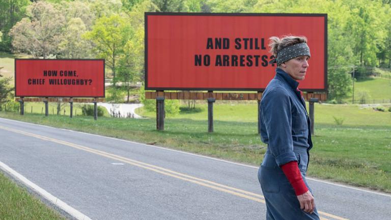 """Filmstill """"Three Billboards Outside Ebbing, Missouri"""""""