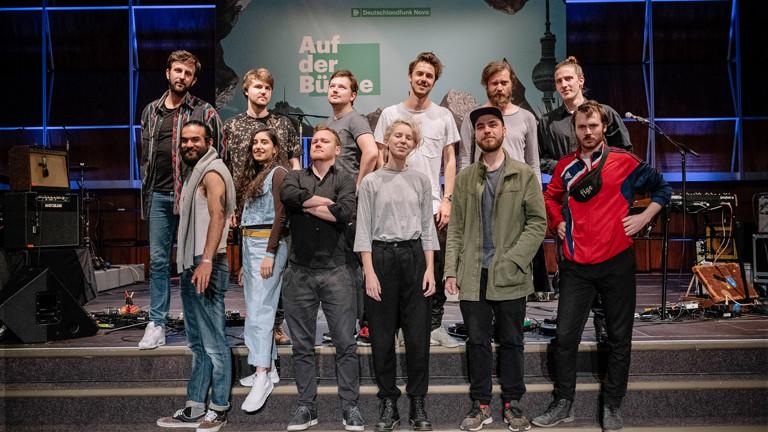 """""""Auf der Bühne"""" am 20.05.2018 mit Panda Lux, 5K HD und Naaz"""