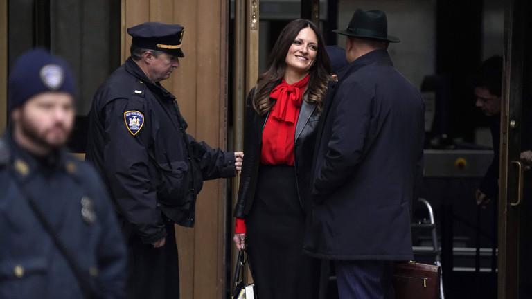 Donna Rotunno verlässt am 20.01.2020 den New York Criminal Court. Die Juristin gehört zum Verteidigungsteam des Produzenten Harvey Weinstein