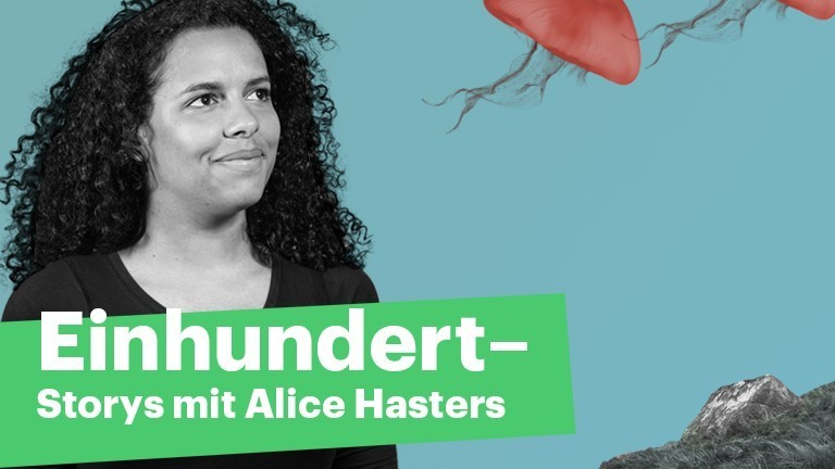 Einhundert-Moderatorin Alice Hasters.