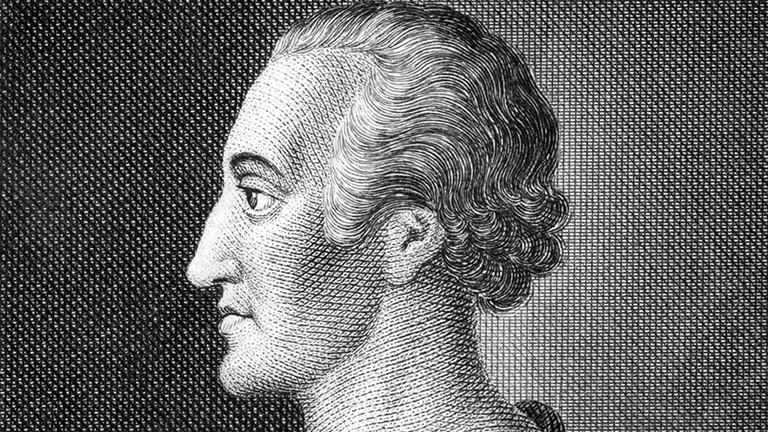 Porträtstich des Adolph Freiherr Knigge (1752-1796)