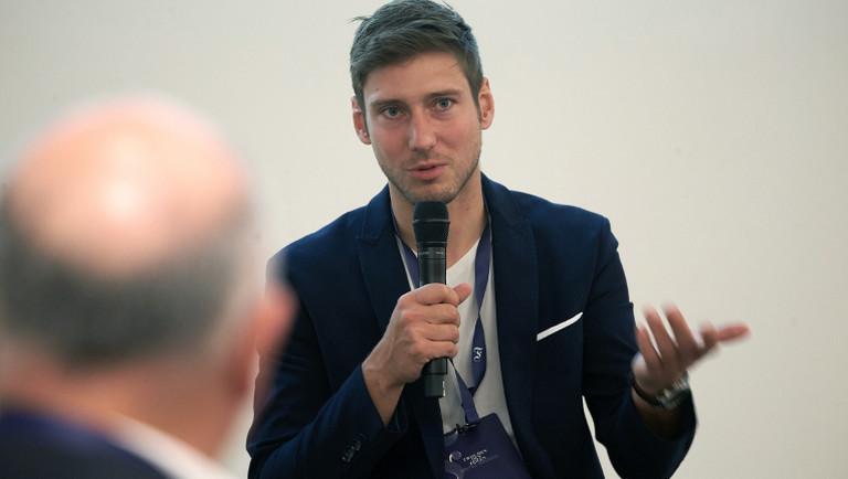 Fechter Max Hartung im September 2019