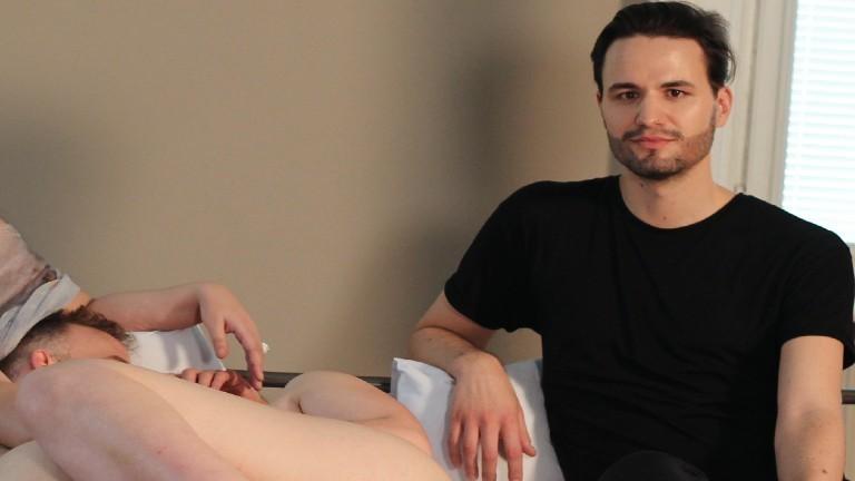 Patrick Cautz am Set eines feministischen Pornos
