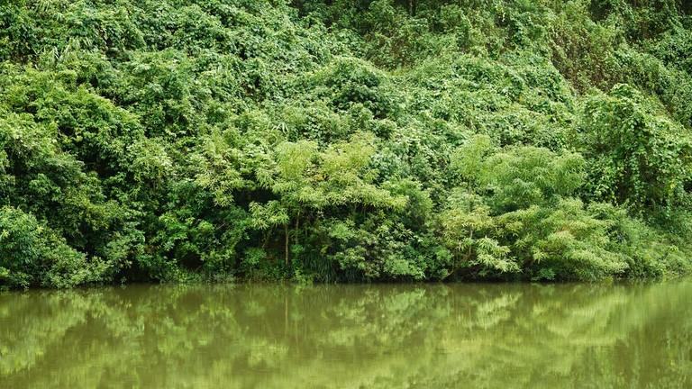 Der Ben-Hai-Fluss in Vietnam