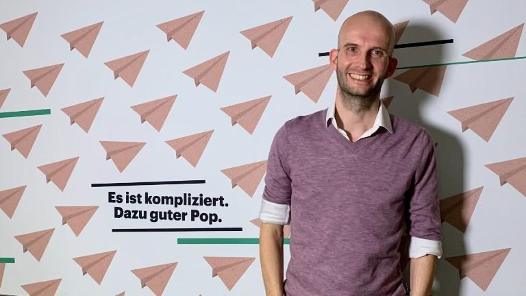Der Psychologe Sascha Neumann