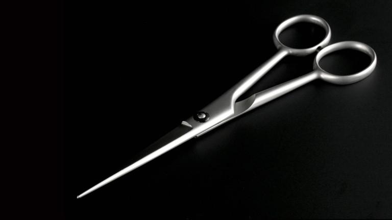Schere zum Haareschneiden