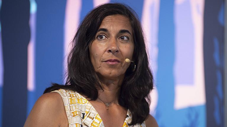 Sheila Mysorekar  im August 2019 in Düsseldorf