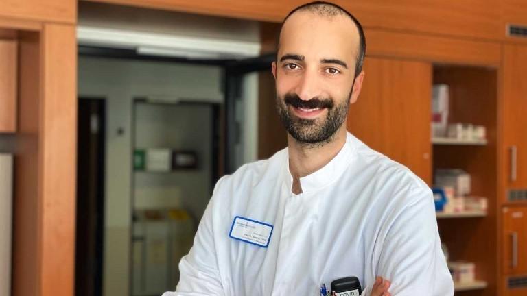 Cihan Çelik, Arzt auf einer Covid-19-Isolierstation