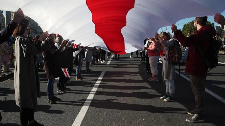 Proteste in Minsk am 20.09.2020