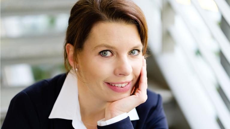 Portrait Marion Helle-Laumann