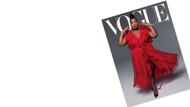 Das Cover der amerikanischen Ausgabe der Vogue im Oktober 2020