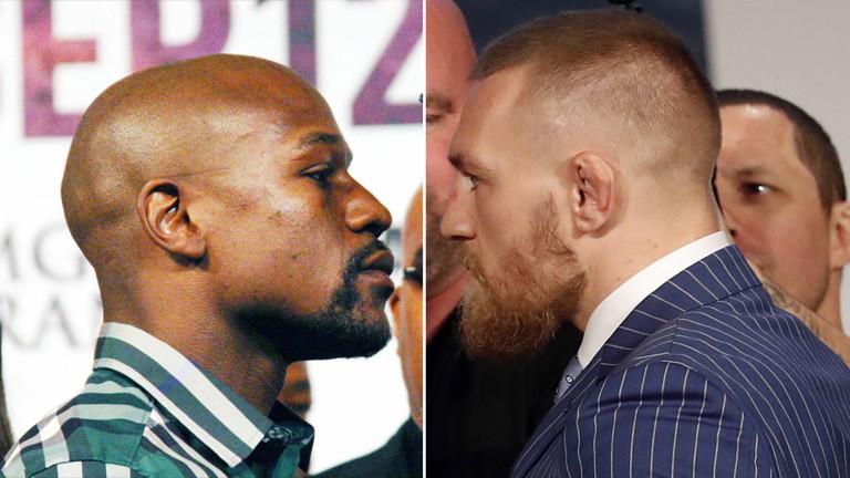 Boxlegende Floyd Mayweather trifft auf MMA-Superstar Conor McGregor.   500 Millionen Dollar stecken angeblich in der Begegnung. Dabei ist der Kampf sportlich uninteressant.