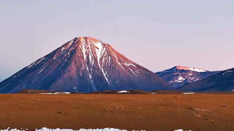 Chajnantor in der Atacama-Wüste