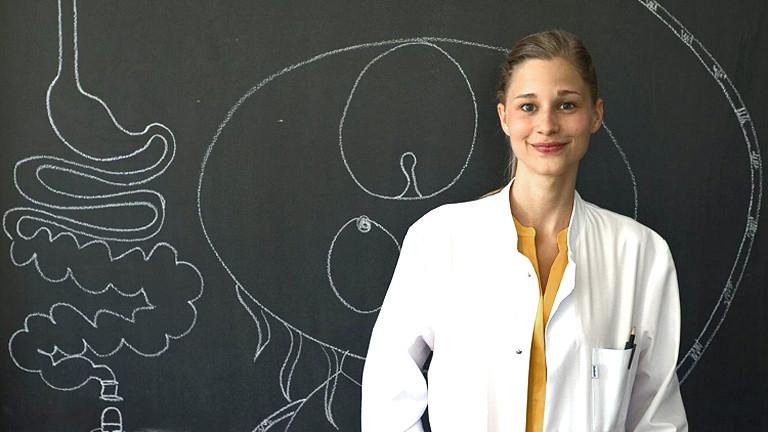 Die Wissenschaftlerin und Buchautorin Giulia Enders