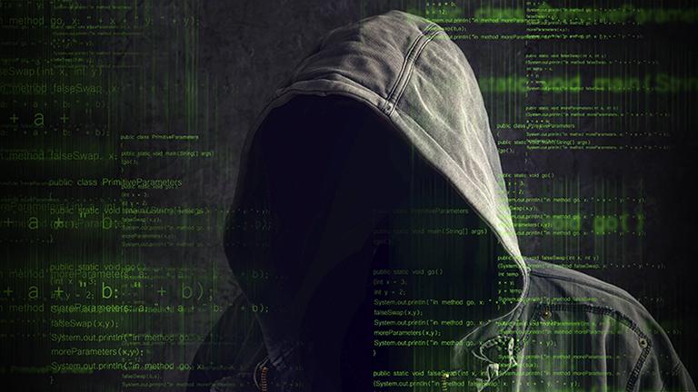 Symbolbild Cyberkriminalität und Identitätsdiebstahl