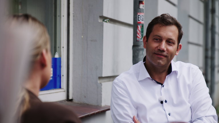 Lars Klingbeil (SPD) im Interview