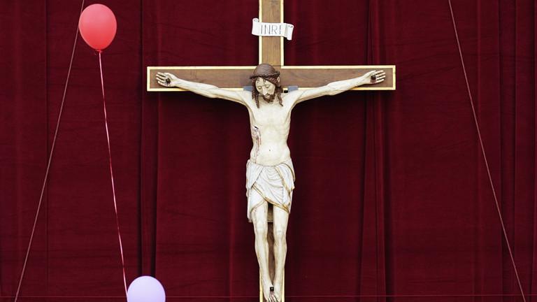 Ein Kruzifix