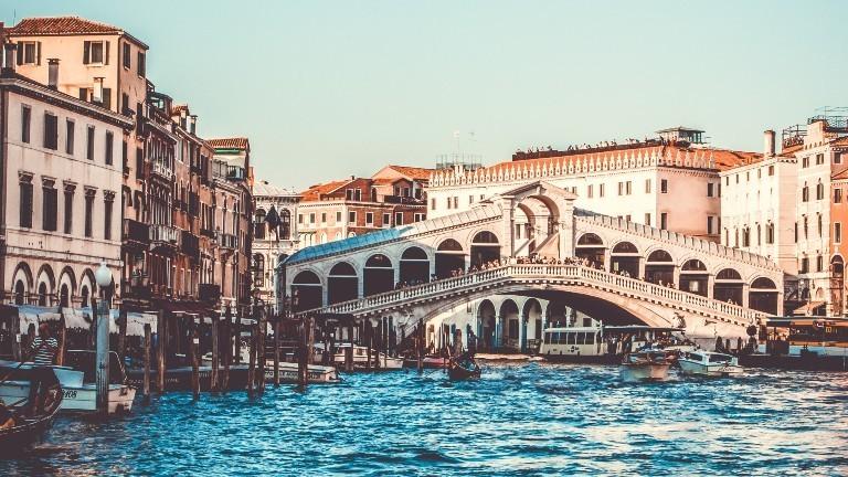 Ein Bilder der Stadt Venedig