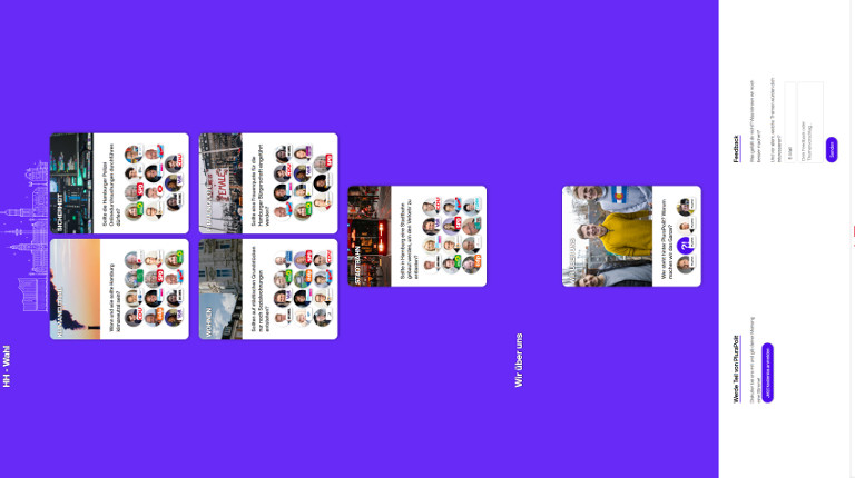 Screenshot der Seite plurapolit.de