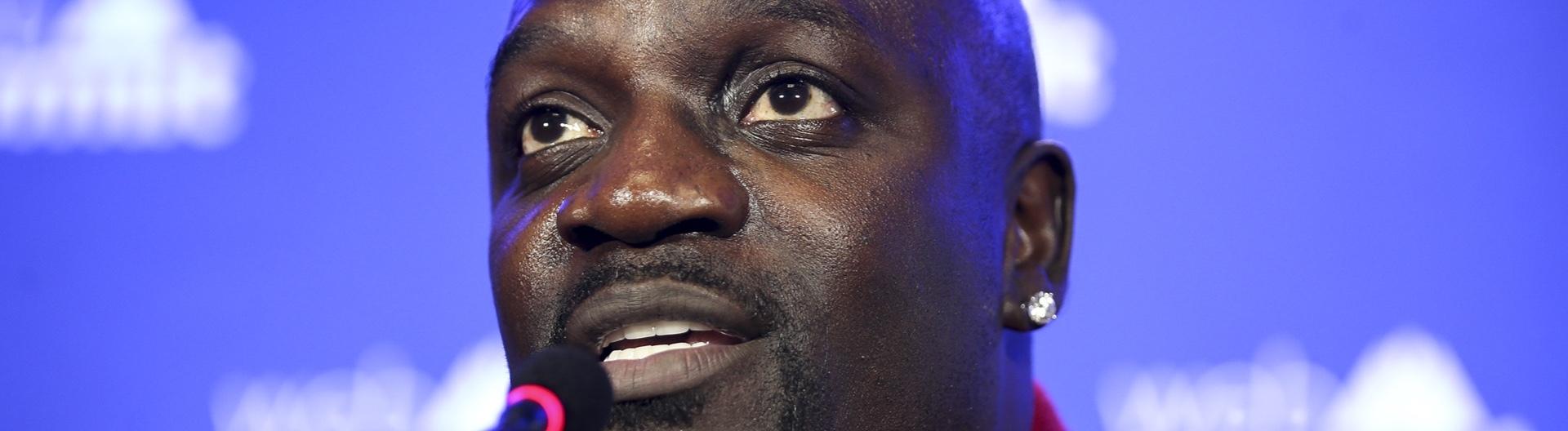 Akon am 6.11.19 in Lissabon auf dem Web Summit