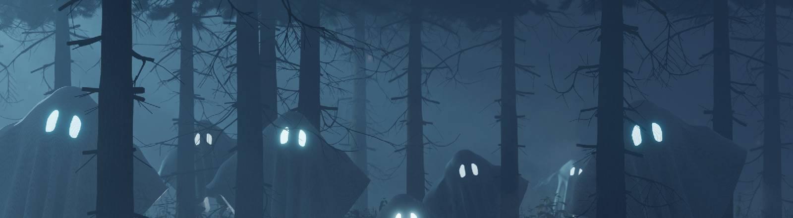 Geister sind im Wald