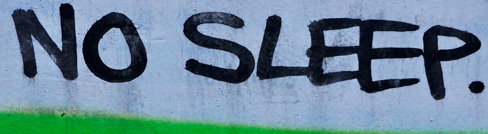 Eine Graffitischrift