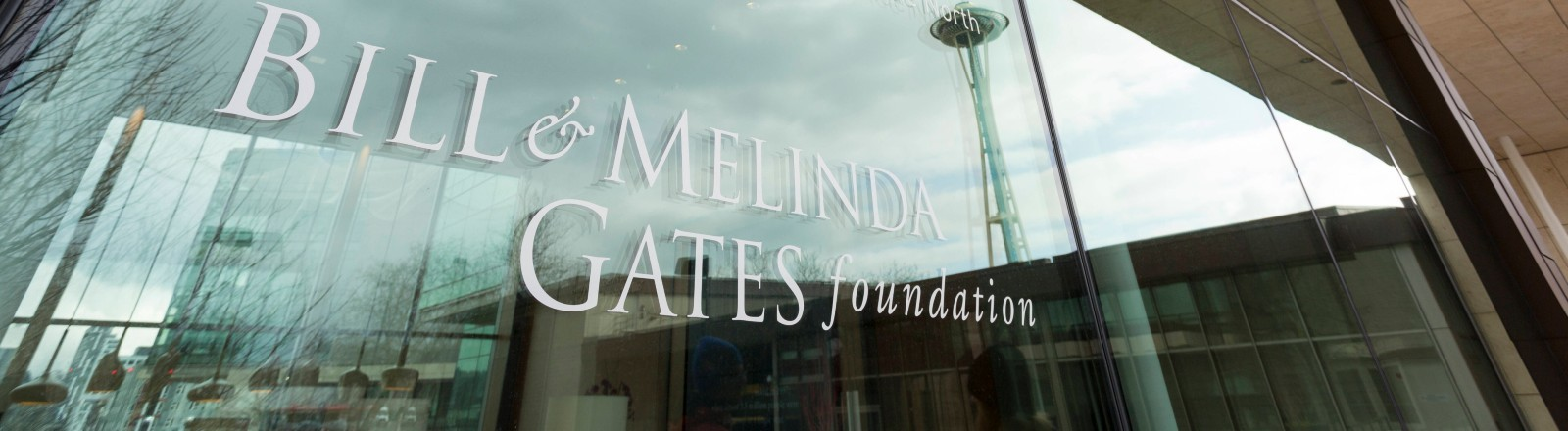 Eingang der Bill and Melinda Gates Foundation