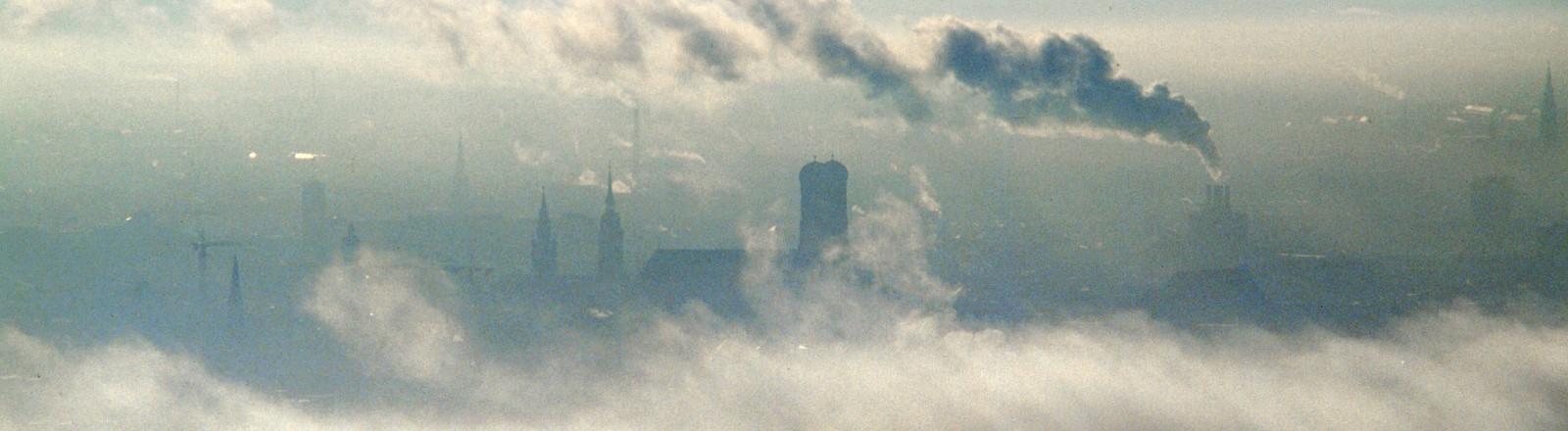 Smog über München