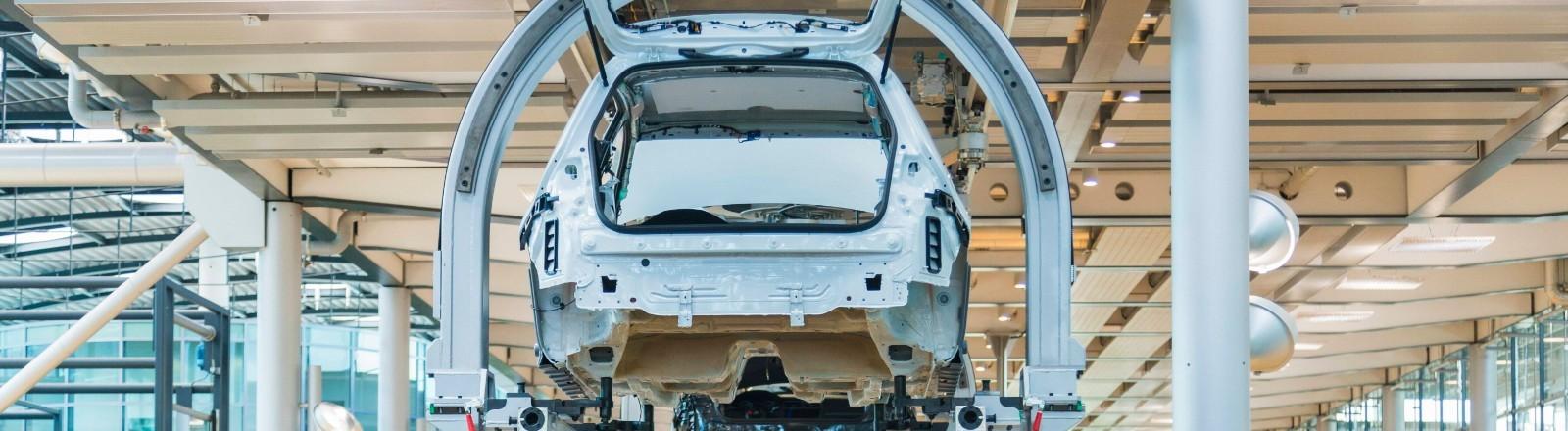 Die gläserne Manufaktur von Volkswagen