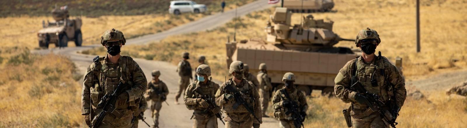Soldaten der US-Army in Syrien