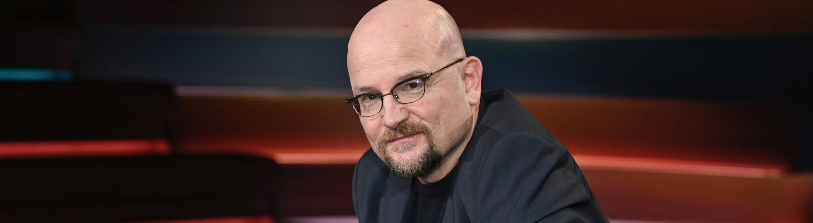 Der Epidemiologe Dirk Brockmann bei einer Sendung von Markus Lanz