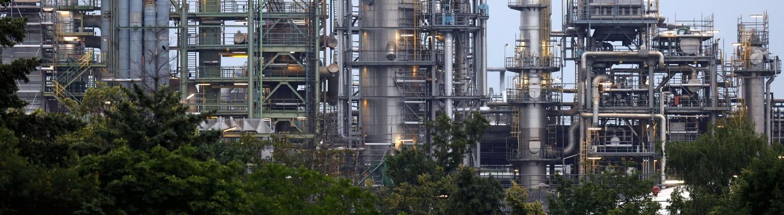 Eine Raffinerieanlage zur Herstellung von grünem Wasserstoff