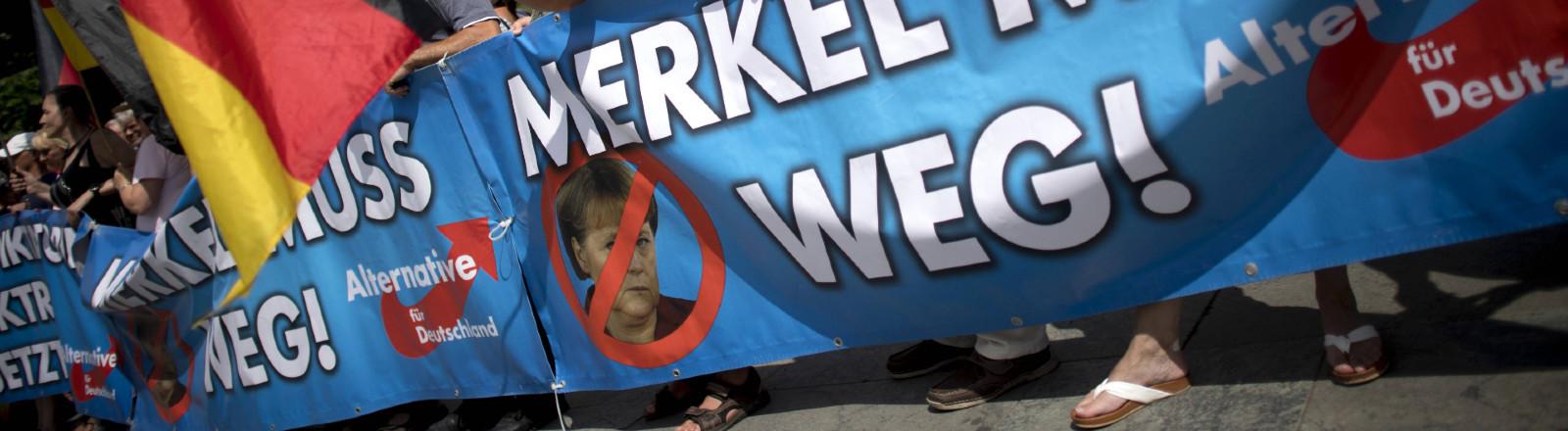 AfD Demo Kanzleramt, Tag der Patrioten, Berlin, 17.06.2018