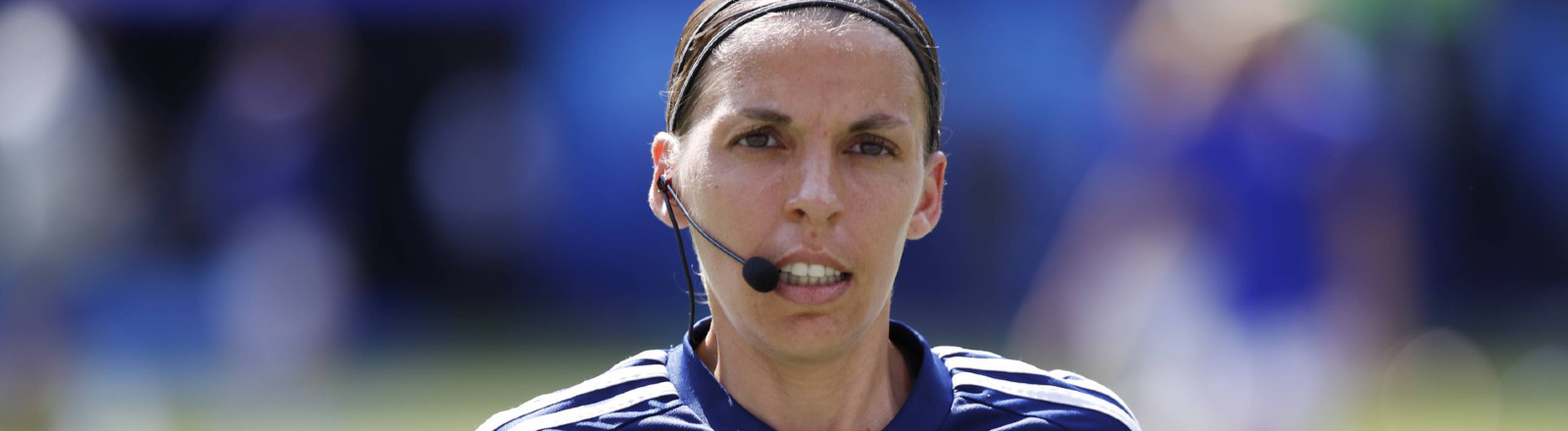 Französische Schiedsrichterin Stéphanie Frappart