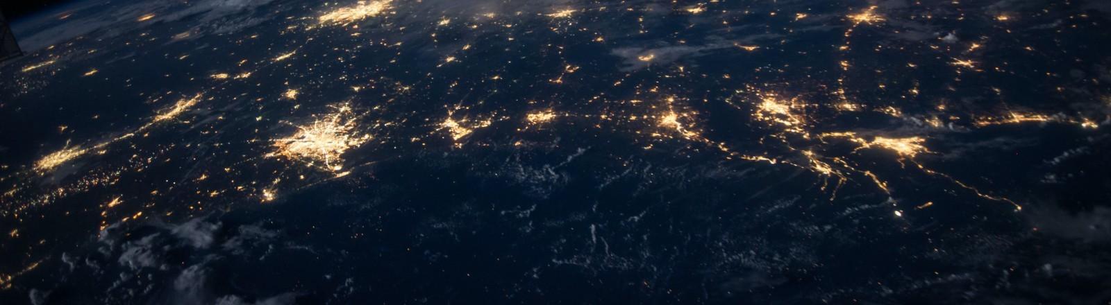 Eine Sicht auf die Welt von oben