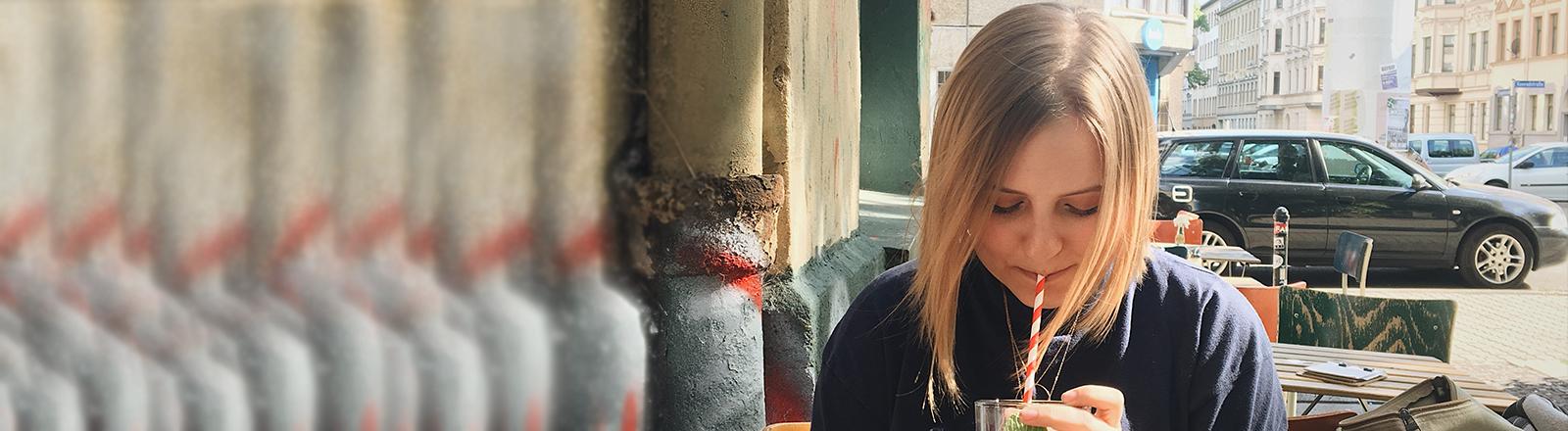 Die 23-Jährige Rebecca Jung lebt mit 3 Lebern