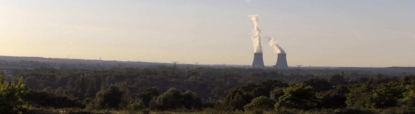 Ein Atomkraftwerk in weiter Ferne