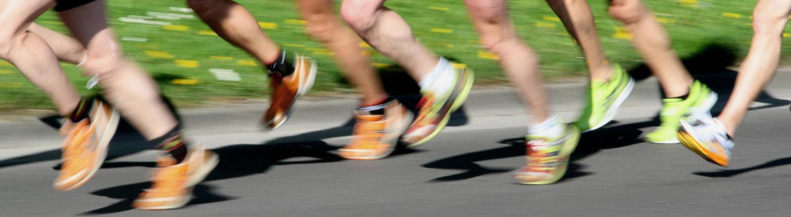 turnschuhe von läufern