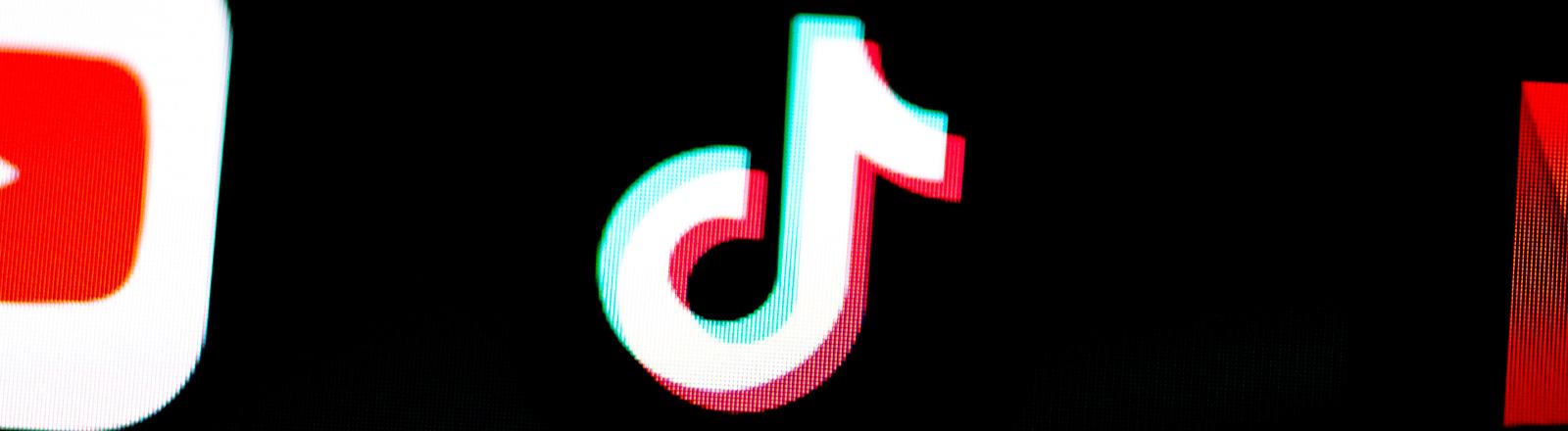 Logo der App TikTok