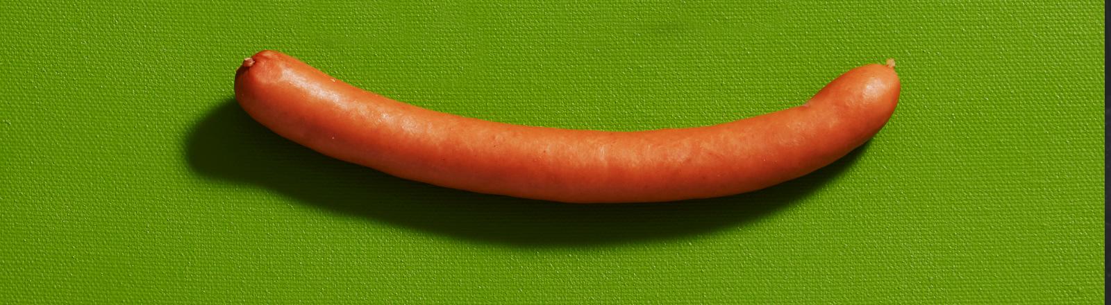 Eine Bockwurst